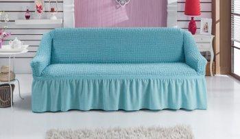 Чехол на прямой диван